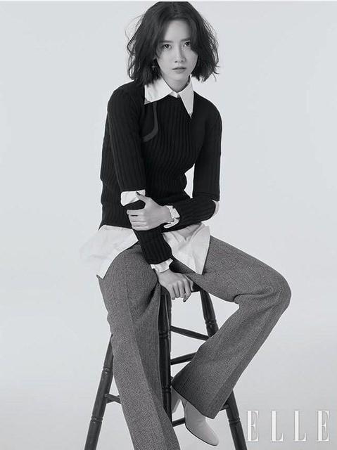 YoonA (SNSD) đầy phong cách trên ELLE - Ảnh 3.