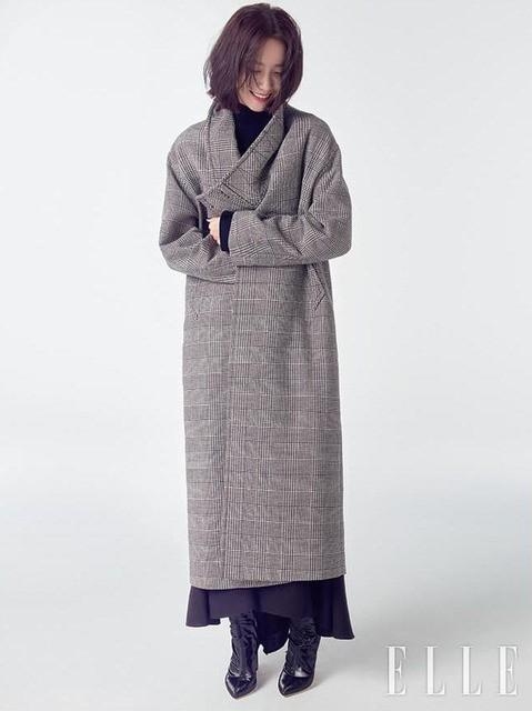 YoonA (SNSD) đầy phong cách trên ELLE - Ảnh 1.