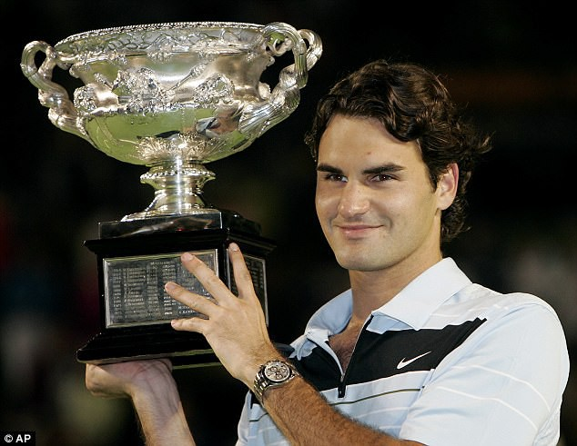 Ấn tượng: Nhìn lại 20 chức vô địch Grand Slam của Federer qua ảnh - Ảnh 10.