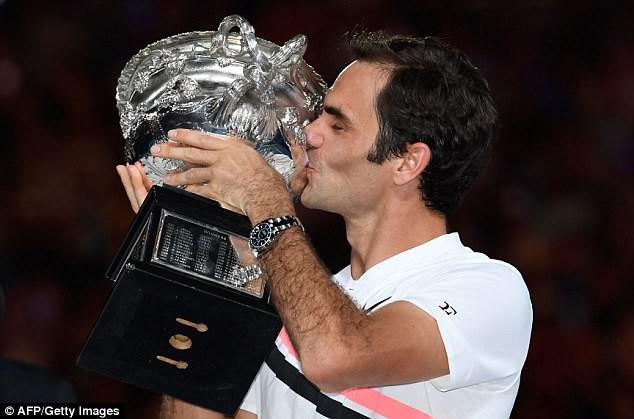 Ấn tượng: Nhìn lại 20 chức vô địch Grand Slam của Federer qua ảnh - Ảnh 20.