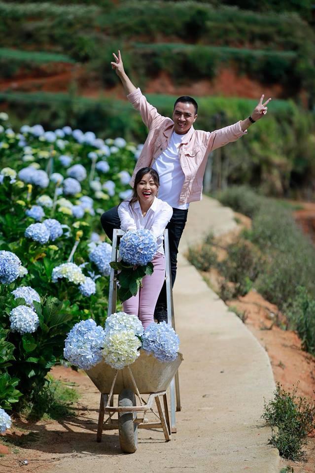 MC Hoàng Linh Chúng tôi là chiến sĩ tung ảnh cưới đẹp như mơ tại Đà Lạt - Ảnh 13.