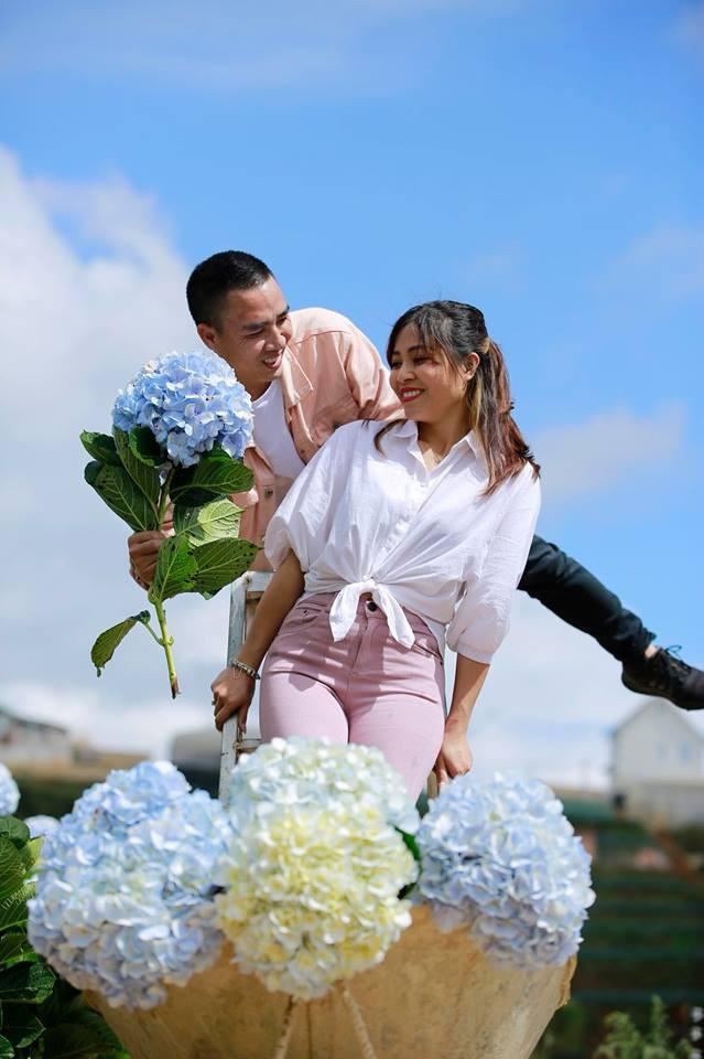 MC Hoàng Linh Chúng tôi là chiến sĩ tung ảnh cưới đẹp như mơ tại Đà Lạt - Ảnh 14.