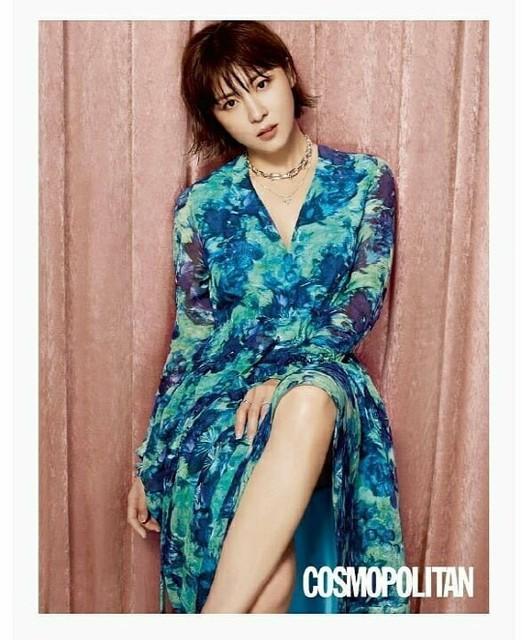 Ha Ji Won cá tính trong bộ ảnh mới - Ảnh 5.