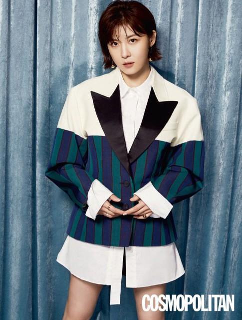 Ha Ji Won cá tính trong bộ ảnh mới - Ảnh 4.