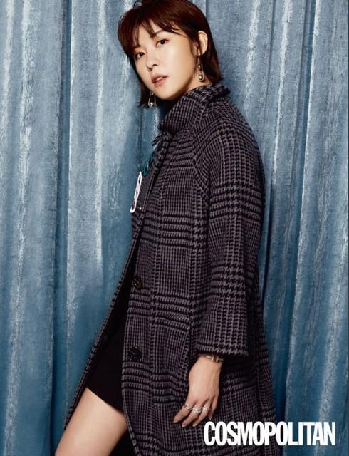 Ha Ji Won cá tính trong bộ ảnh mới - Ảnh 1.
