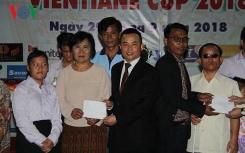 Bế mạc Giải bóng đá thanh niên Việt Nam tại Lào lần thứ 5 - Ảnh 2.