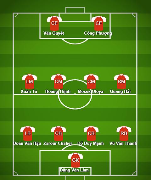 Hoàng Thịnh, Nghiêm Xuân Tú góp mặt trong đội hình tiêu biểu V.League 2018 - Ảnh 1.