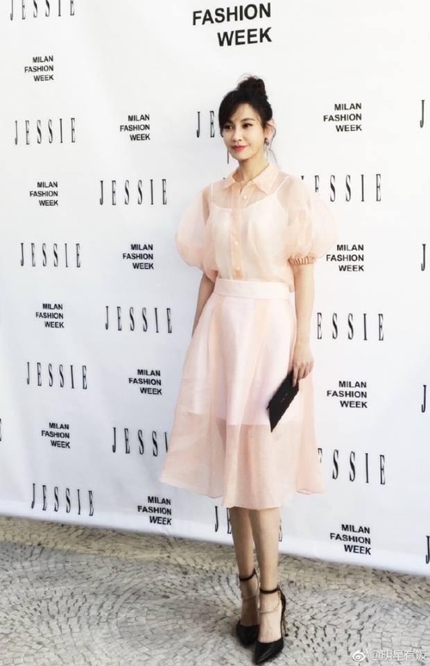 Người đẹp Dương Tuyết bất ngờ tái xuất tại Tuần lễ thời trang Milan - Ảnh 4.