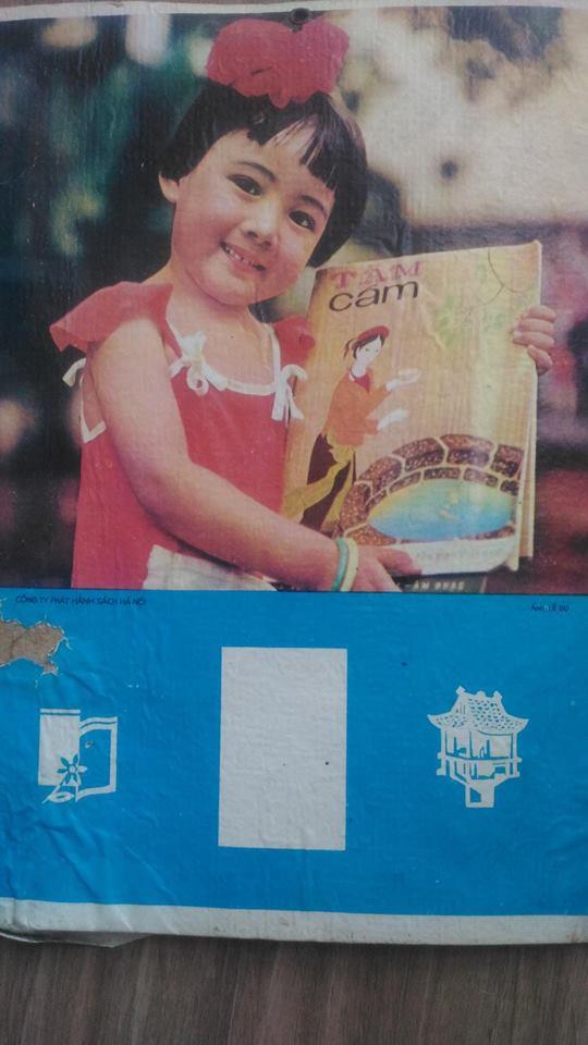 Mới 4 tuổi, BTV Hoài Anh đã làm mẫu ảnh - Ảnh 1.