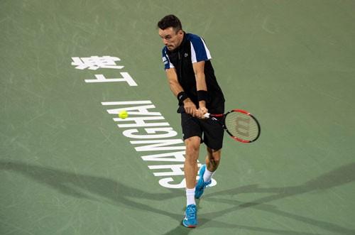 Vượt qua Bautista Agut, Roger Federer vào tứ kết Thượng Hải Masters 2018 - Ảnh 2.