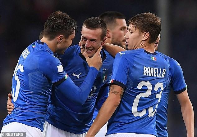 Giao hữu quốc tế Italia 1-1 Ukraina: ĐT Italia nối dài chuỗi trận thất vọng - Ảnh 1.