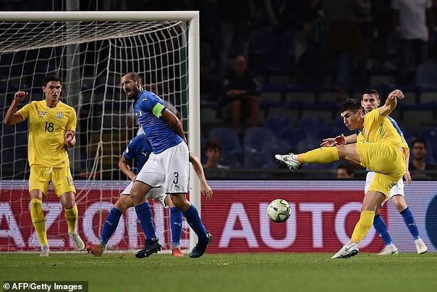 Giao hữu quốc tế Italia 1-1 Ukraina: ĐT Italia nối dài chuỗi trận thất vọng - Ảnh 2.