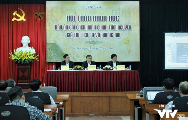 Bộ Nội vụ tổ chức hội thảo Dấu ấn cải cách hành chính triều Nguyễn – Giá trị lịch sử và đương đại - Ảnh 3.
