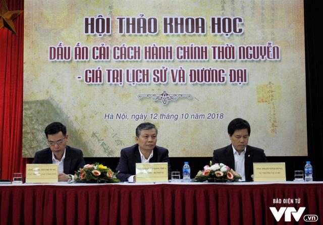 Bộ Nội vụ tổ chức hội thảo Dấu ấn cải cách hành chính triều Nguyễn – Giá trị lịch sử và đương đại - Ảnh 5.
