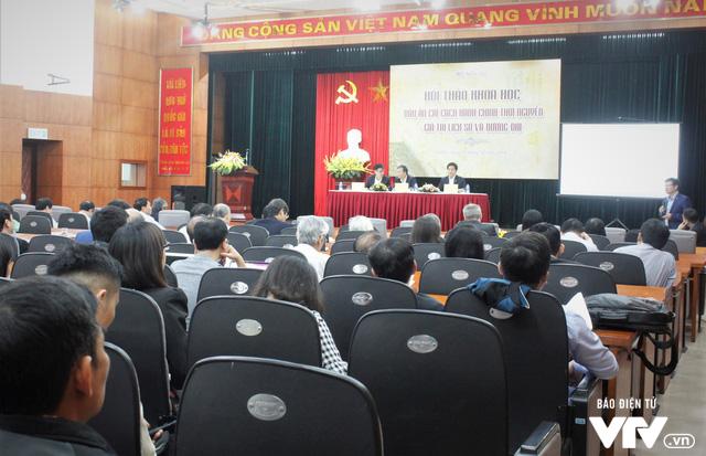 Bộ Nội vụ tổ chức hội thảo Dấu ấn cải cách hành chính triều Nguyễn – Giá trị lịch sử và đương đại - Ảnh 4.