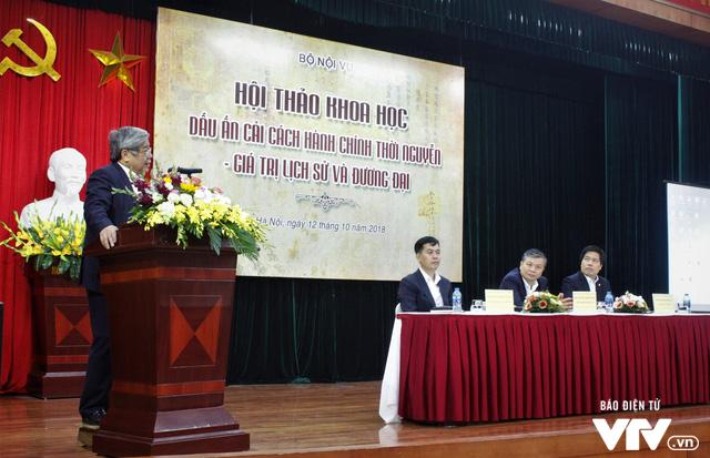 Bộ Nội vụ tổ chức hội thảo Dấu ấn cải cách hành chính triều Nguyễn – Giá trị lịch sử và đương đại - Ảnh 2.