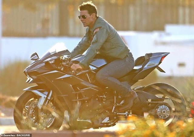 Hé lộ những hình ảnh phong độ của Tom Cruise trong phim Top Gun 2 - Ảnh 3.