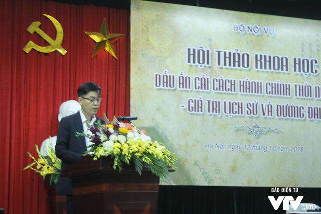 Bộ Nội vụ tổ chức hội thảo Dấu ấn cải cách hành chính triều Nguyễn – Giá trị lịch sử và đương đại - Ảnh 1.