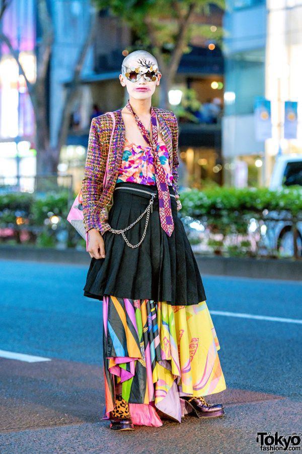 Street Style tại Tuần lễ thời trang Tokyo Xuân 2019 có gì hot? - Ảnh 9.