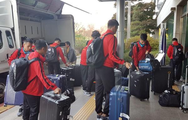 AFF Cup 2018: ĐT Việt Nam đã có mặt tại Paju, sẵn sàng cho đợt tập huấn - Ảnh 2.