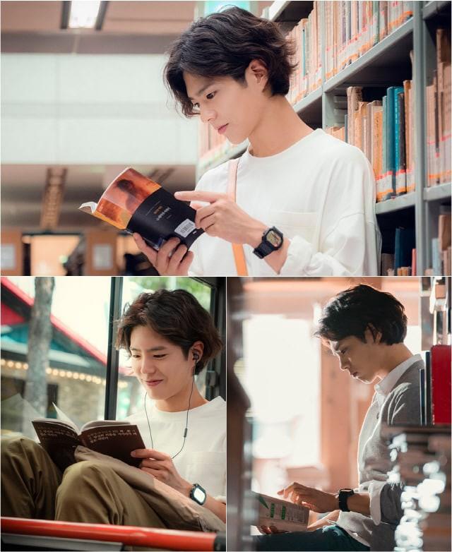 Người tình trẻ của Song Hye Kyo khoe vẻ ngoài đầy lãng tử - Ảnh 1.