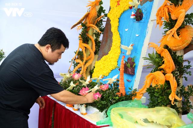 Náo nhiệt Hội thi Ẩm thực VTV 2018 chào mừng ngày Phụ nữ Việt Nam - Ảnh 5.