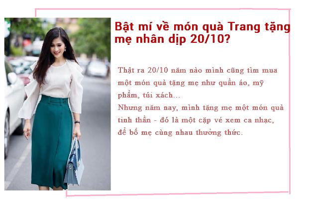 MC thời sự Minh Trang tiết lộ quà 20/10 do người bí mật tặng nhiều năm liền - Ảnh 3.
