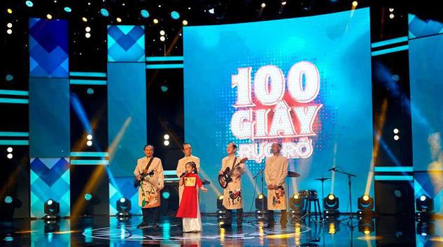 Cô bé hát nhạc rock do ông ngoại đệm nhạc chiến thắng tập 4 100 giây rực rỡ - Ảnh 2.