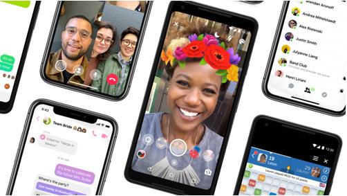 Facebook thay áo mới cho ứng dụng Messenger - Ảnh 1.