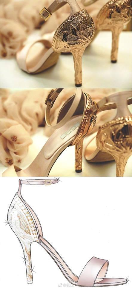 Cận cảnh váy cưới giá 1,3 tỷ đồng của Đường Yên - Ảnh 9.