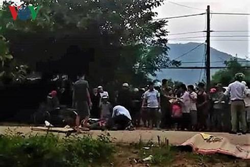 Hai xe máy va chạm, 3 người tử vong, 1 bị thương nặng - Ảnh 1.