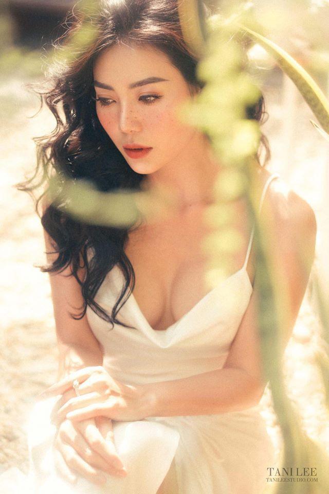 Diễn viên Thanh Hương để mặt tàn nhang hút ánh nhìn trong bộ ảnh mới - Ảnh 6.