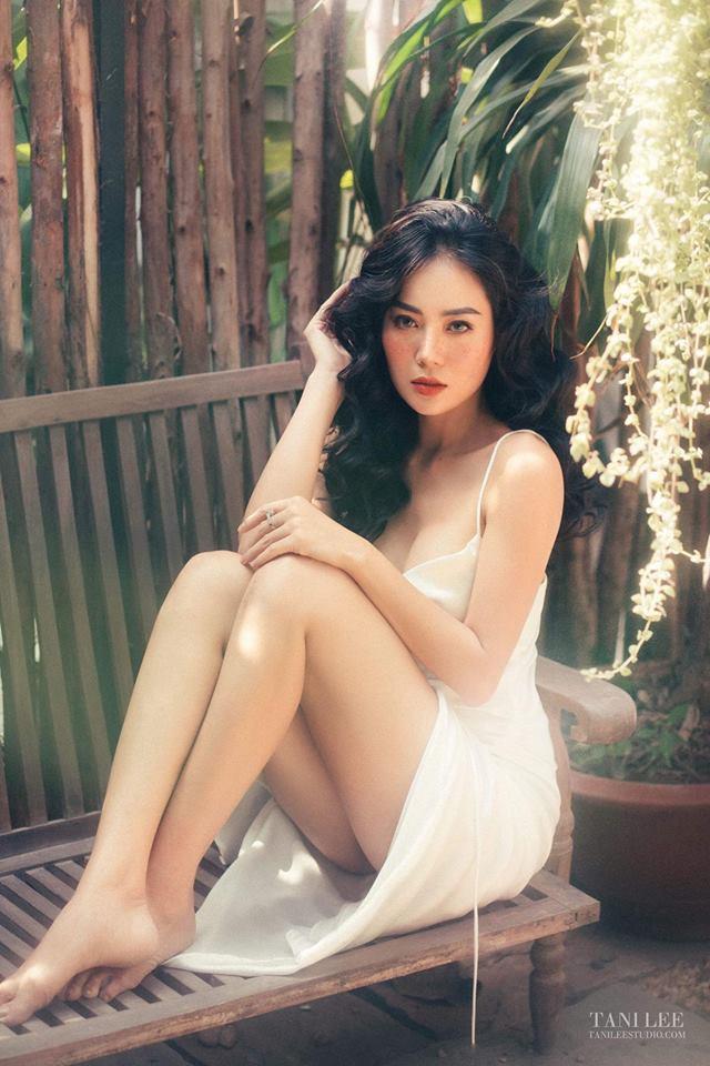 Diễn viên Thanh Hương để mặt tàn nhang hút ánh nhìn trong bộ ảnh mới - Ảnh 4.