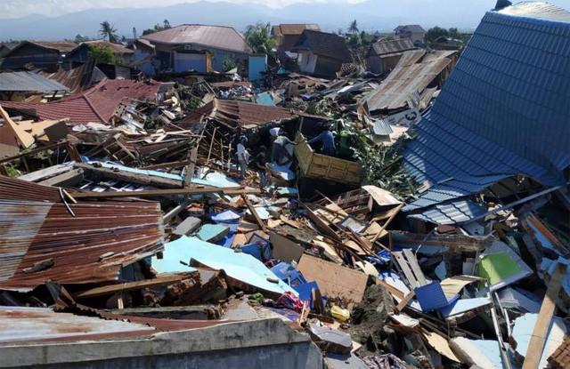 """""""Lực bất tòng tâm"""" tại tâm chấn động đất, sóng thần Indonesia - Ảnh 1."""