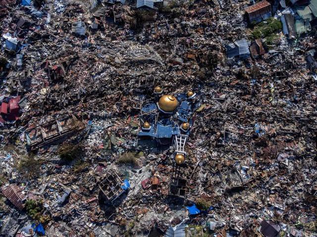 """""""Lực bất tòng tâm"""" tại tâm chấn động đất, sóng thần Indonesia - Ảnh 2."""