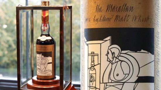 Chai whisky đắt nhất thế giới được bán với giá 1,1 triệu USD - Ảnh 1.