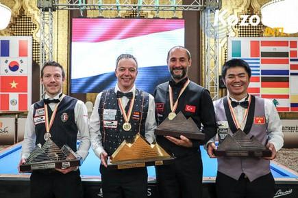 Nguyễn Quốc Nguyện giành HCĐ Billiards thế giới - Ảnh 2.