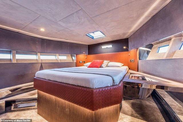 Du thuyền cao tốc sang trọng nhất thế giới với giá 24 tỉ đồng trông như thế nào? - Ảnh 2.
