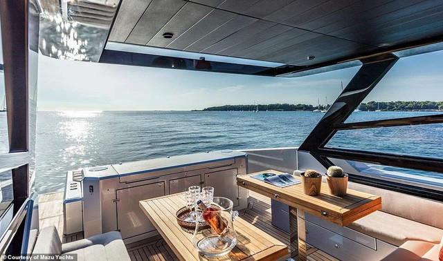 Du thuyền cao tốc sang trọng nhất thế giới với giá 24 tỉ đồng trông như thế nào? - Ảnh 7.