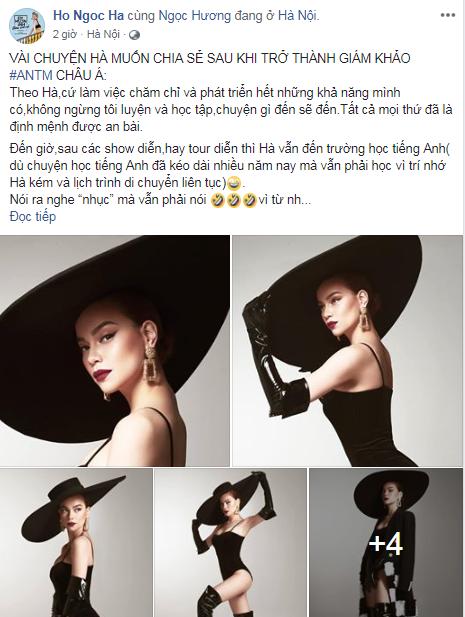 Hồ Ngọc Hà trải lòng chuyện làm giám khảo Asias Next Top Model - Ảnh 1.