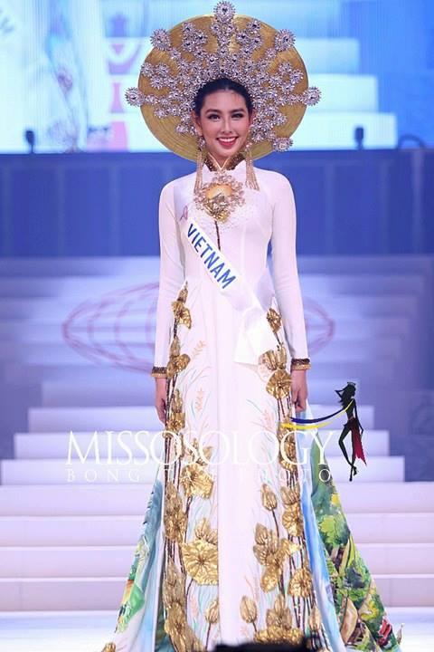 Trượt Top 15 đầy tiếc nuối, Thùy Tiên vẫn tỏa sáng trên sân khấu Miss International 2018 - Ảnh 1.