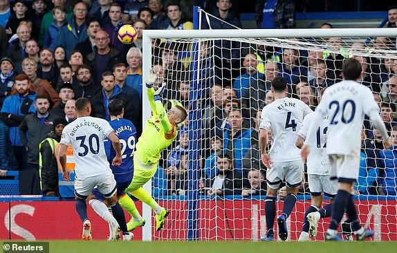 VIDEO Chelsea 0-0 Everton: The Blues lỡ cơ hội lên đầu bảng - Ảnh 2.