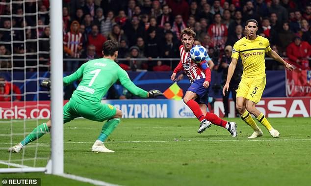 Phục hận thành công Dortmund, Atletico rộng cửa đi tiếp ở Champions League - Ảnh 2.