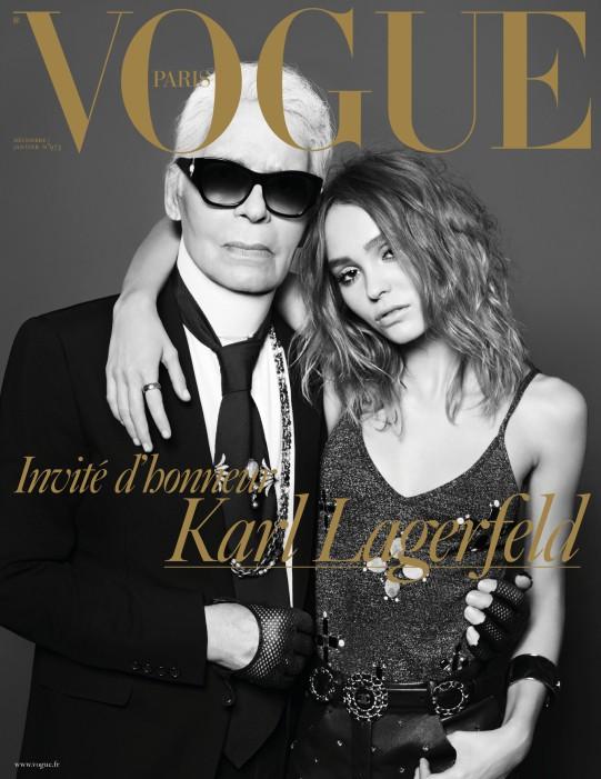 Con gái Johnny Depp khen Karl Lagerfeld là người ngọt ngào - Ảnh 1.