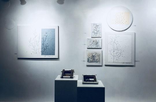 Nàng cỏ Goo Hye Sun mở triển lãm nghệ thuật riêng - Ảnh 1.