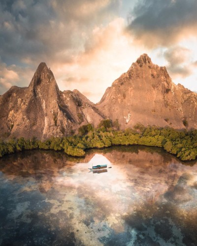 Ngỡ ngàng vẻ hoang sơ, tươi đẹp của các vùng đất châu Á từ trên cao - Ảnh 1.