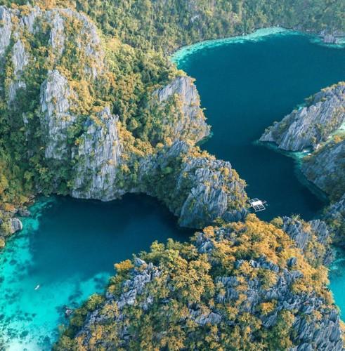 Ngỡ ngàng vẻ hoang sơ, tươi đẹp của các vùng đất châu Á từ trên cao - Ảnh 12.