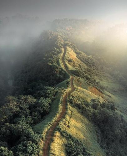 Ngỡ ngàng vẻ hoang sơ, tươi đẹp của các vùng đất châu Á từ trên cao - Ảnh 16.