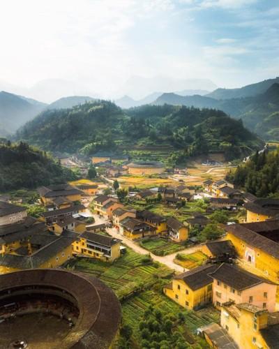 Ngỡ ngàng vẻ hoang sơ, tươi đẹp của các vùng đất châu Á từ trên cao - Ảnh 18.