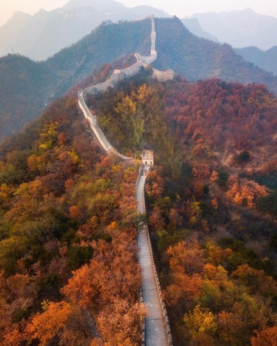 Ngỡ ngàng vẻ hoang sơ, tươi đẹp của các vùng đất châu Á từ trên cao - Ảnh 4.